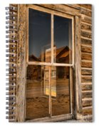 Window Into The Montana Past Spiral Notebook