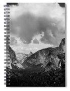 Window Into Yosemite Spiral Notebook