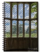 Lacock Abbey Wales Spiral Notebook