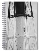 Window Lighthouse Spiral Notebook