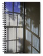 Window Lines Spiral Notebook