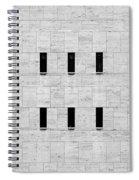 Window Of Lincoln Center, Upper West Side Manhattan Spiral Notebook