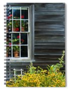 Window Of Olson House Spiral Notebook