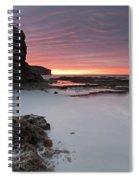 Window On Dawn Spiral Notebook