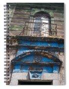 Window On Side Street Quezaltenango Guatemala Spiral Notebook