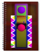 Window On The Nile 3 Spiral Notebook