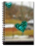 Window Stickers Spiral Notebook