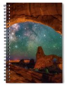 Window To The Heavens Spiral Notebook