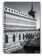 Windows Of El Escorial Spain Spiral Notebook