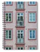 Windows Of The French Style Spiral Notebook