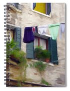 Windows Of Venice Spiral Notebook