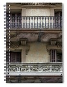 Windows Over Barcelona Spiral Notebook