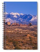 Windows Section, Arches National Park Spiral Notebook