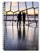 Windowscape Spiral Notebook