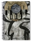 Windriver Collage Spiral Notebook
