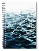 Winds Of The Sea Spiral Notebook