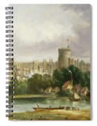 Windsor Castle - From The Thames Spiral Notebook
