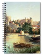 Windsor From The Thames   Spiral Notebook