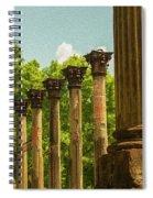 Windsor Ruins Spiral Notebook