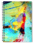 Windsurfing Spiral Notebook