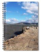 Windswept Cobb - Lyme Regis Spiral Notebook