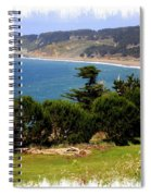 Windswept Over San Francisco Bay Spiral Notebook