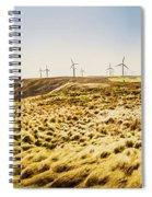 Windswept Tasmania Spiral Notebook