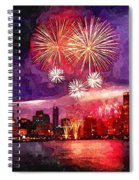 Windy City Spiral Notebook