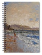 Windy Day At Sea Spiral Notebook