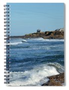 Windy Day At Yachats Spiral Notebook
