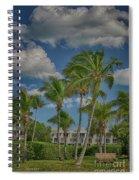 Windy Sanibel Day Spiral Notebook
