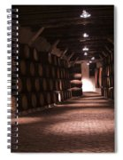 Wine Barrels Spiral Notebook