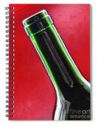 Wine Bottles 8 Spiral Notebook