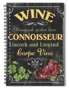 Wine Cellar 2 Spiral Notebook