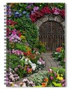 Wine Celler Gates  Spiral Notebook