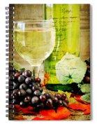 Wine Spiral Notebook
