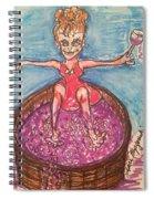 Wine Making Spiral Notebook