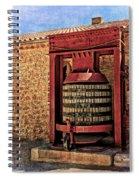 Wine Press Near Narbonne France Dsc01630 Spiral Notebook