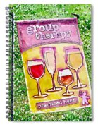 Wine Sign Spiral Notebook