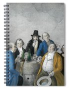 Wine Tasters In A Cellar Spiral Notebook