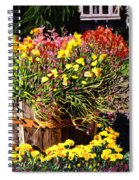 Winebarrel Garden Spiral Notebook