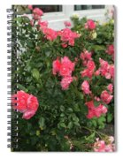 Winery Roses  Spiral Notebook