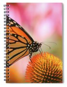 Winged Beauty Spiral Notebook