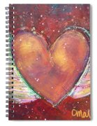 Winged Heart Number 2 Spiral Notebook