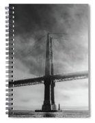 Winged Skyscraper Spiral Notebook