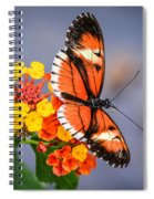 Winged Tiger Spiral Notebook