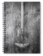 Winged Weeder II Spiral Notebook