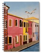Wingin It In Venice Spiral Notebook