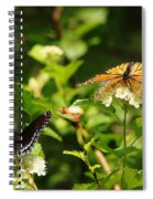 Wings And Blooms Spiral Notebook
