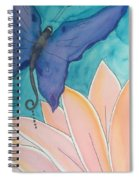 Wings And Pedals Spiral Notebook